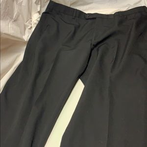 Brooks Brothers 100% Wool Dress Pants 40/30 Black